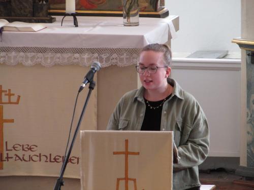 Predigt (Fotos von Herr Oertel)